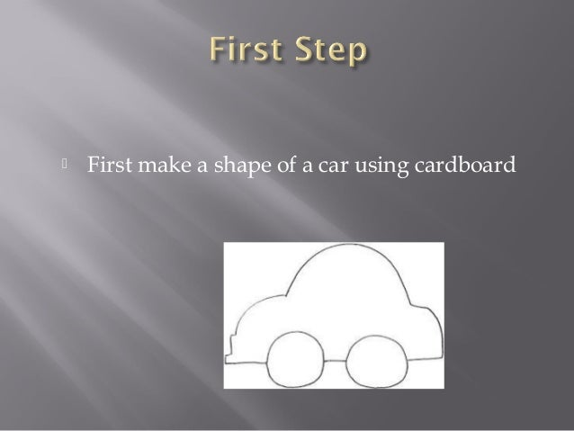how to make a balloon propelled car