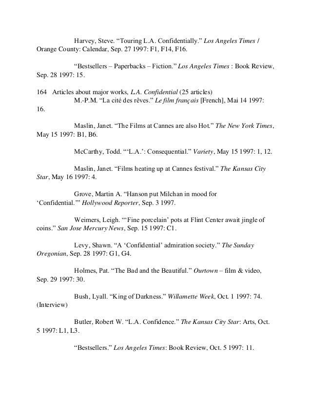 James Ellroy Archive, 1915-