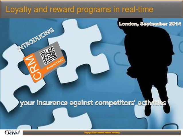 1 Loyalty and reward programs in real-time