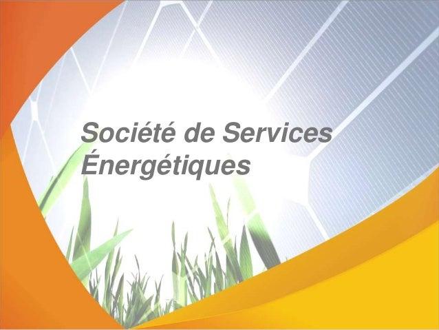 Société de Services Énergétiques
