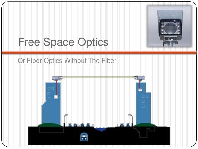 Free Space Optics Communication