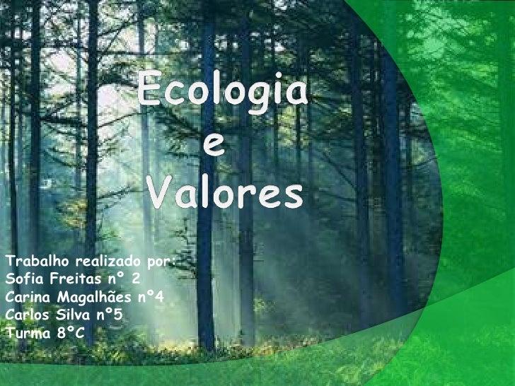 Trabalho realizado por:Sofia Freitas nº 2Carina Magalhães nº4Carlos Silva nº5Turma 8ºC
