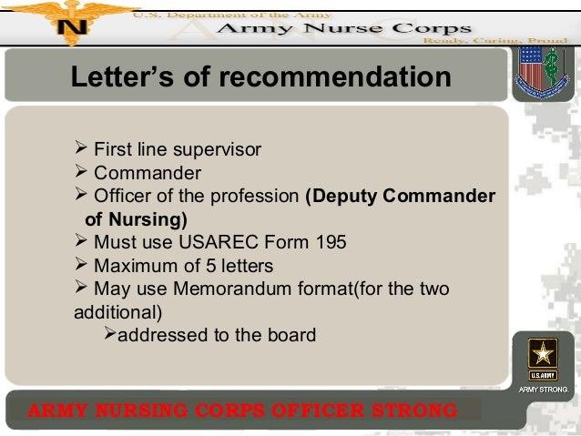 Amedd enlisted commissioning program letters of recommendation spiritdancerdesigns Images