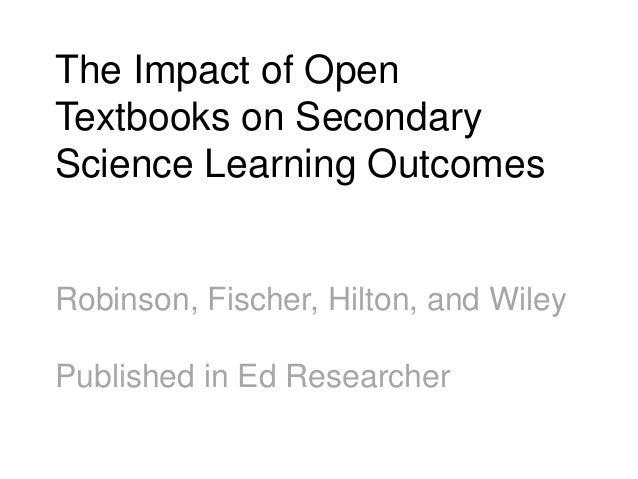 11 Peer Reviewed Studies http://openedgroup.org/
