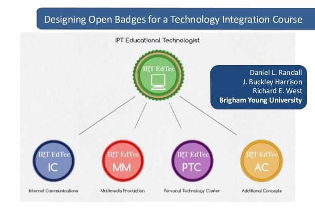 Designing Open Badges for a Technology Integration Course  Daniel L. Randall J. Buckley Harrison Richard E. West Brigham Y...