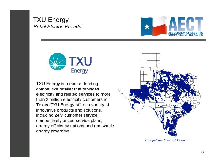 Txu Energy Plans >> Aect Electricity101