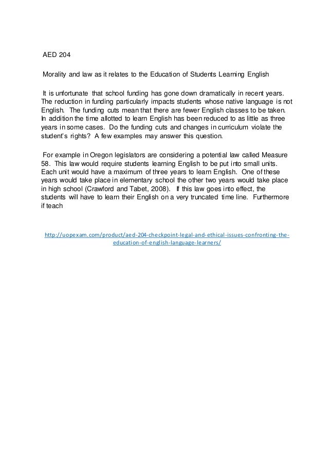 a paper on issues of english language learners Position statements ncte and its constituent groups have developed position statements on a variety of education issues vital to the teaching and learning of english language arts.