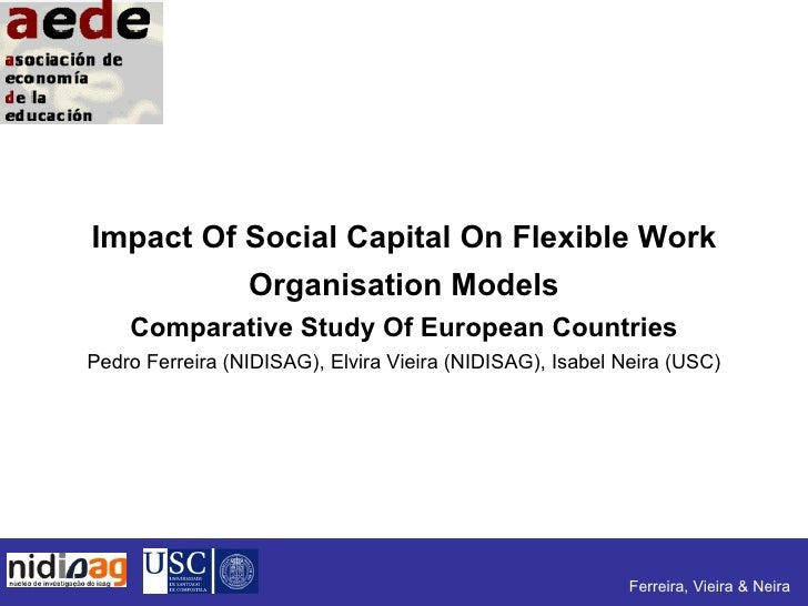 Impact Of Social Capital On Flexible Work           Organisation Models     Comparative Study Of European Countries Pedro ...