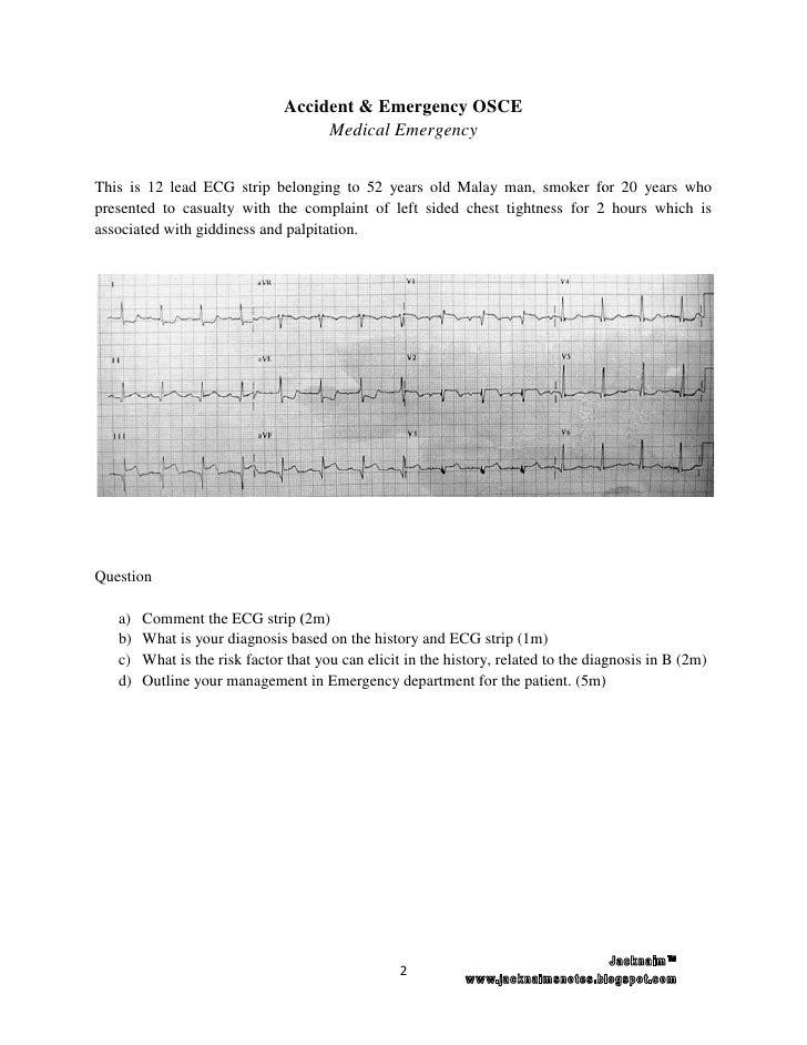 A&e end posting osce assesment group 7 Slide 3