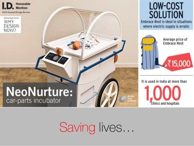 Saving lives…