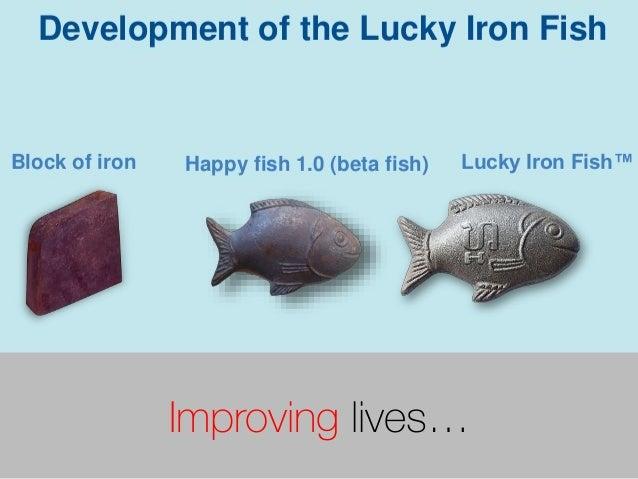 Improving lives…
