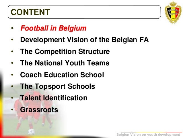 The belgium vision on youth development youth development 3 fandeluxe Images