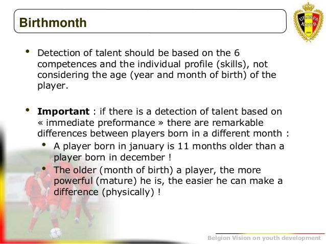 The belgium vision on youth development belgion vision on youth development 69 birthmonth detection of fandeluxe Images