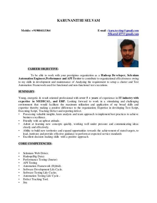 karuna resume