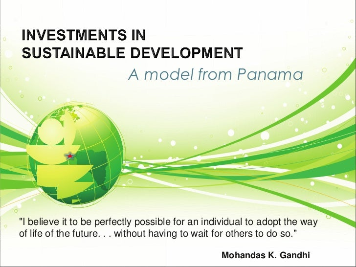 """A model from Panama""""I believe it to be perfectly possible for an individual to adopt the wayof life of the future. . . wit..."""