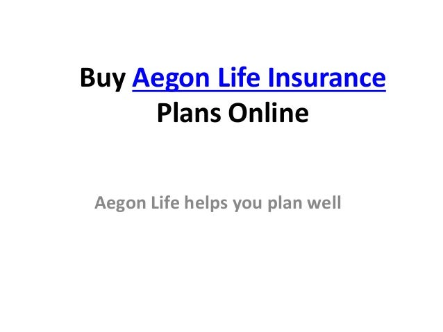Aegon life insurance buy best plans online for Buy blueprints online