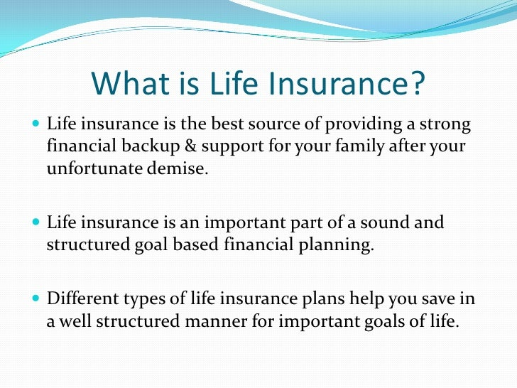 what is insurance Definition of insurance: risk-transfer mechanism that ensures full or partial  financial compensation for the loss or damage caused by event(s) beyond the  control.