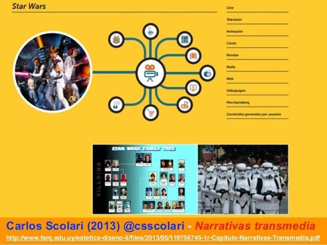 Carlos scolari narrativas transmedia