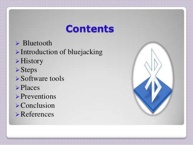 bluejacking essay