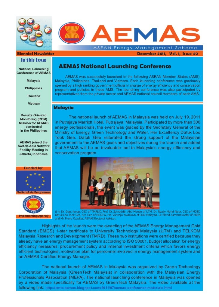 Biennial Newsletter                                                                  December 2011, Vol. 1, Issue #2  In t...