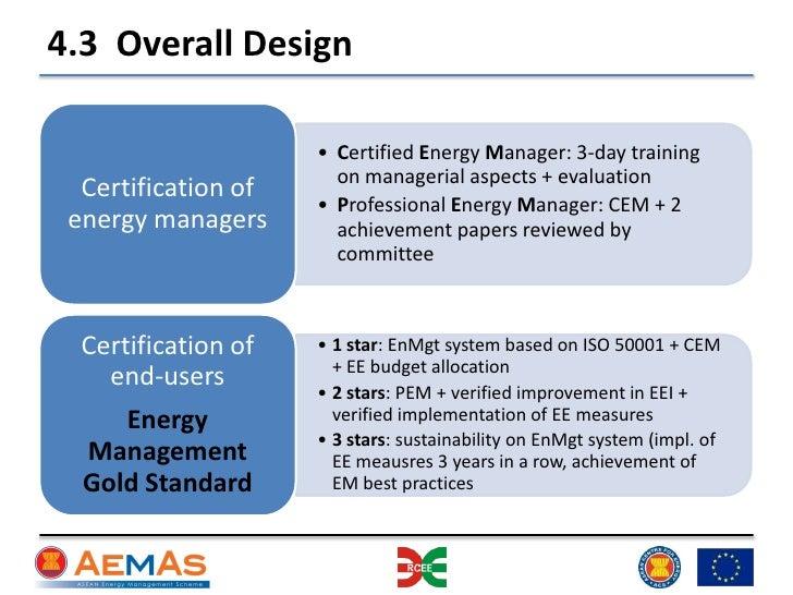 Cem certification essay
