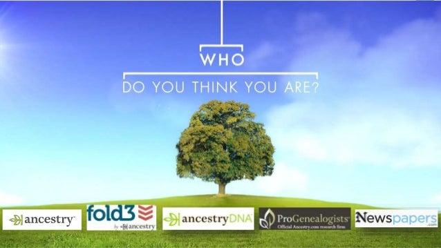 Ancestry...Dot What? | AEM Sig Community Event Presentation Slide 2