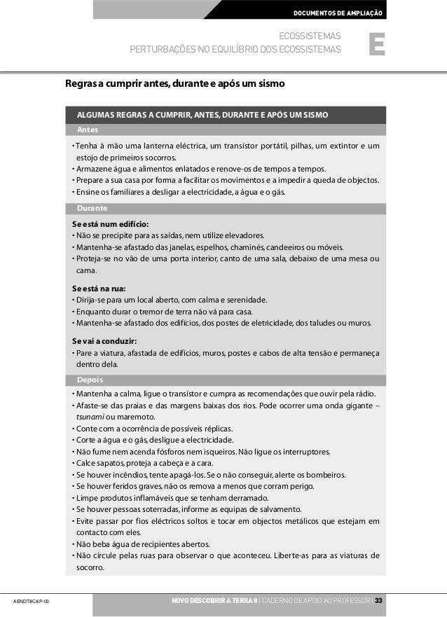 DOCUMENTOS DE AMPLIAÇÃO                                                               ECOSSISTEMAS                        ...