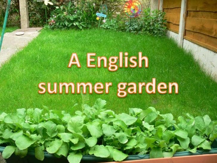 A English <br />summer garden<br />