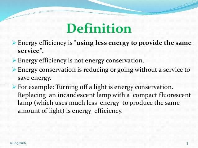 Energy Efficiency computing
