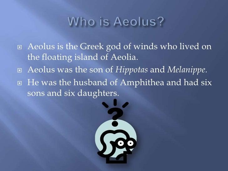 Aeolus Bag Of Wind Aeolus By Eliza...