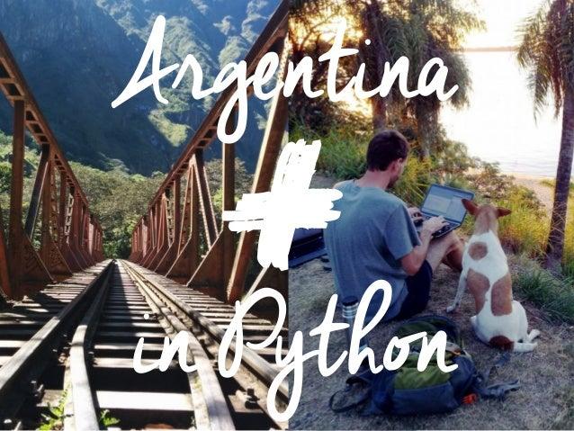 Argentina in Python +