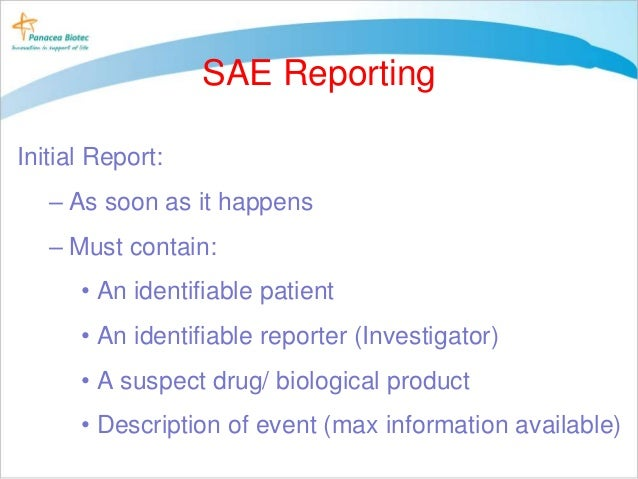 adverse event reporting ppt