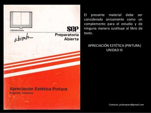 El presente material debe ser considerado únicamente como un complemento para el estudio y de ninguna manera sustituye al ...