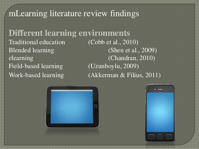 thesis mobile learning Second language teaching and learning with technology: or thesis), or that it is not under consideration for publication elsewhere toronto, canada in her research of mobile learning, agnieszka has combined.