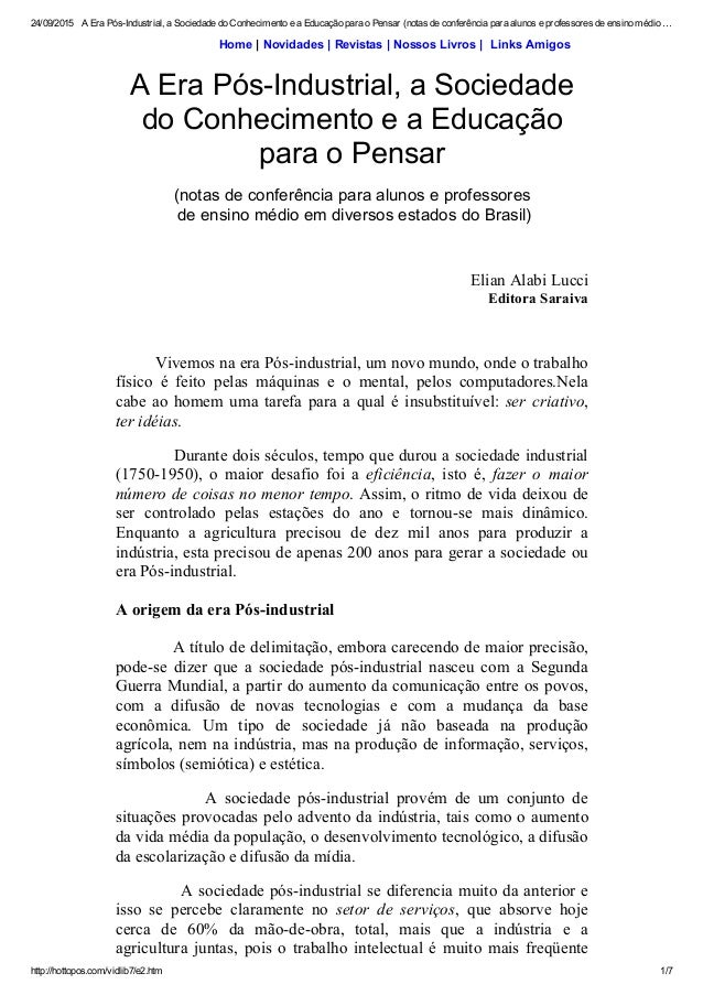24/09/2015 AEraPósIndustrial,aSociedadedoConhecimentoeaEducaçãoparaoPensar(notasdeconferênciaparaalunos...