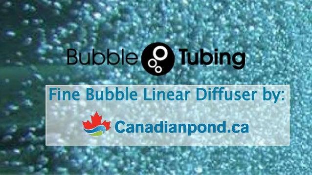 Fine Bubble Linear Diffuser by: