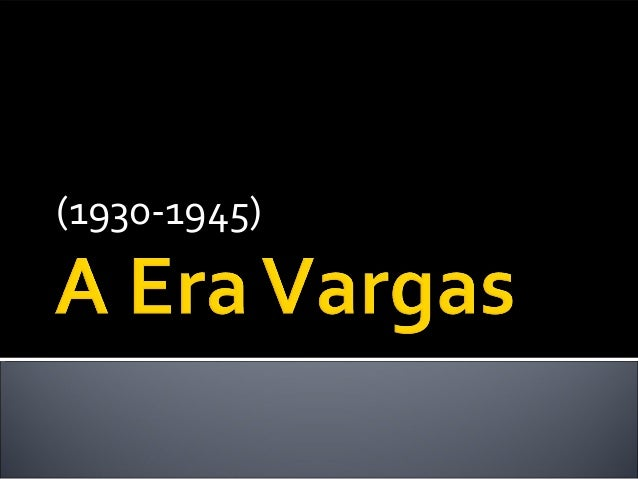 (1930-1945)