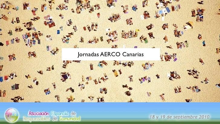 Jornadas AERCO Canarias