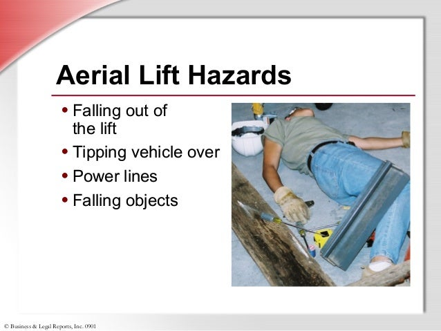 Aerial Lift Safety Power Point