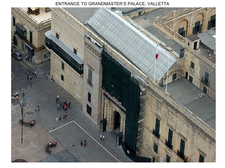 ENTRANCE TO GRANDMASTER'S PALACE, VALLETTA                                             1