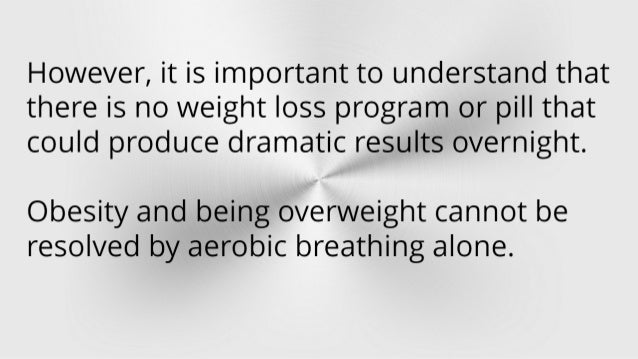 aerobic breathing to lose weight