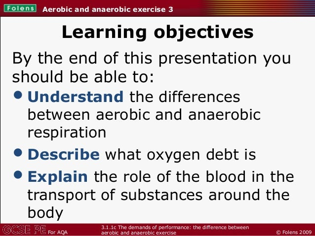 the difference between aerobic and anaerobic exercise