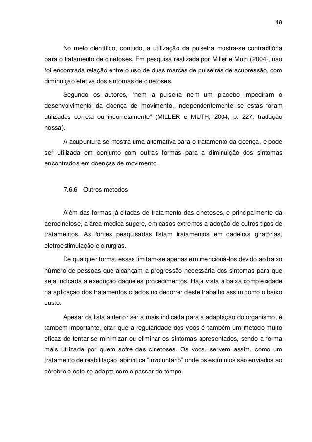 Aerocinetose na aviação civil e suas implicações na formação do pilot… a2ca9af18d