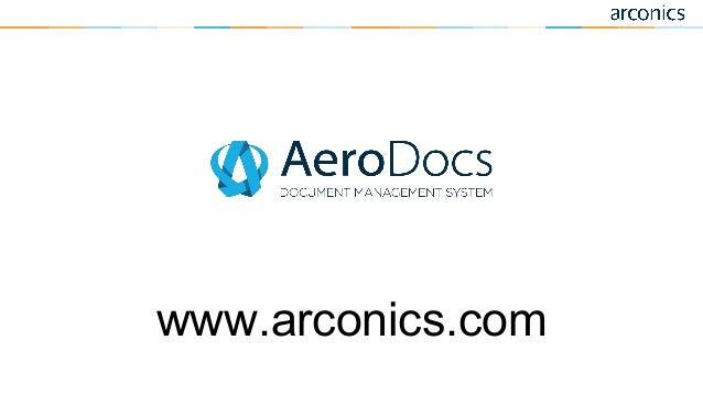 AeroDocs Aviation Document Control Software