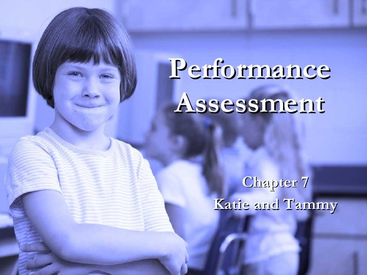 Performance Assessment Chapter 7 Katie and Tammy