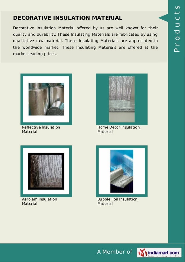 Aerolam Insulations Pvt Ltd