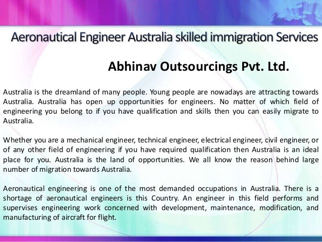 Abhinav Outsourcings Pvt. Ltd. Australia is the dreamland of many people. Young people are nowadays are attracting towards...