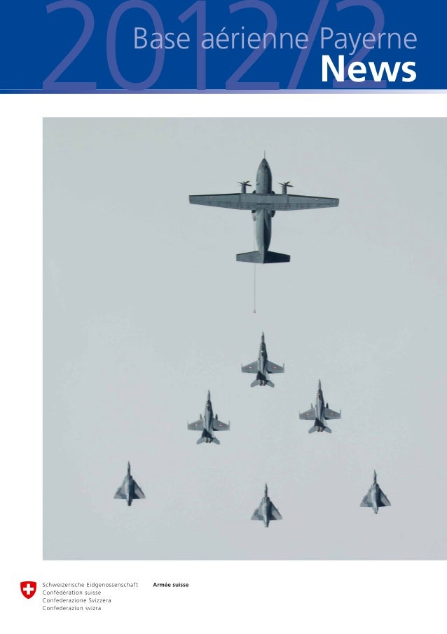 2012/2 Base aérienne Payerne              News