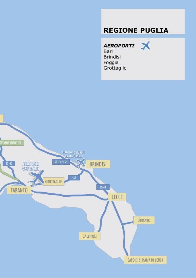 Cartina Aeroporti Puglia.Aeroporti Della Puglia