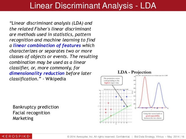 linear discriminant analysis thesis In presenting this thesis in partial fulfilment of the both the classification tree and linear discriminant analysis classifiers had lower failure detection.